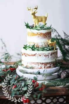 Merceditas Bakery: Tarta invernal #Naked #cake