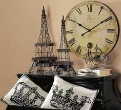 Gift Idea: Eiffel Tower Accent. #GiftIdeas  HomeDecorators.com