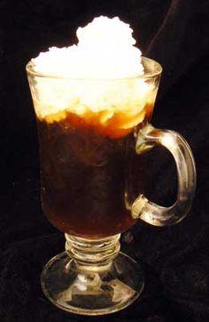 Irish Coffee Mixed Drink Cocktail