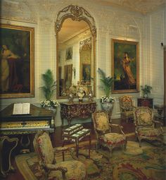 Waddeson Manor - The Grey Drawing Room