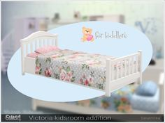 Severinka_'s [Victoria kidsroom] toddlers bed W