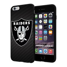"""American Football NFL OAKLAND RAIDERS , Cool iPhone 6 Plus (6+ , 5.5"""") Smartphone Case Cover Collector iphone TPU Rubber Case Black [By NasaCover] NasaCover http://www.amazon.com/dp/B012BCCFTS/ref=cm_sw_r_pi_dp_uonXvb19PQDQZ"""