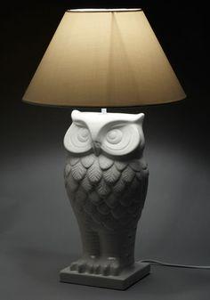 Owl Lit Up Lamp, #ModCloth