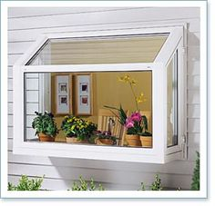 My next home improvement project, a green house kitchen window!