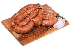BBQ-Style Country Sausage from #YummyMarket