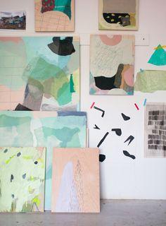 Studio Tour: Caroline Z. Hurley   Design*Sponge