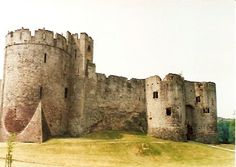 Isabel De Clare (1172 - 1220) Chepstow Castle in Wales, primary residence of Wm. Marshal and Isabel de Clare.