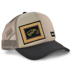 Original Mesh Snapback Trucker Hat- Grey Charcoal - CH122XG4F3D aed082d2c119