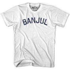 Banjul City Vintage T-shirt