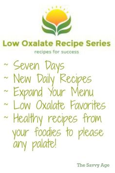 The Low Oxalate Recipe Series features a collection of low oxalate recipes! Seven days of yummy recipes to enjoy whether you are low oxalate, low sodium or gluten free. Diet Tips, Diet Recipes, Healthy Recipes, Delicious Recipes, Healthy Kidney Diet, Kidney Health, Stones Recipe, Low Histamine Foods, Kidney Recipes