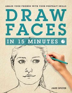 Yes, you can draw! And Draw Faces in 15 Minutes will show you how to draw people's faces. By the time you finish this book, you'll have all the skills you need to achieve a striking likeness in a draw