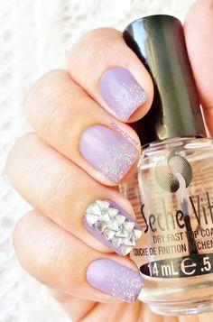 Sweet Purple -- Mini Bourjois Princesse à Vienne n°79 - Mini Bourjois Club à Miami n°32