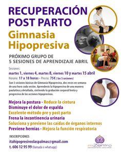 Sesiones de Aprendizaje de Gimnasia Hipopresiva · Abril