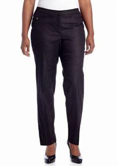 Jones New York Signature  Plus Size Jordan Denim Pant