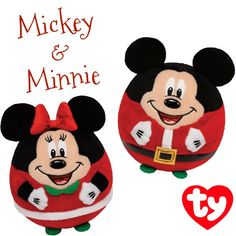 Holiday Mickey   Minnie Mouse! Ty Inc. Holiday Beanies · Windchill the  Beanie Baby ... 486bd520a57e