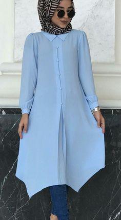 Iryna Tatarchuk - is-sit tiegħi Islamic Fashion, Muslim Fashion, Modest Fashion, Women's Fashion Dresses, Simple Kurti Designs, Blouse Designs, Modele Hijab, Mode Abaya, Outfit Look