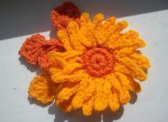 Sunny Flowers - Crochet Me