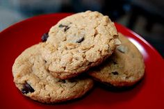 Eva Bakes - There's always room for dessert!: Peanut butter oatmeal chocolate chip cookies