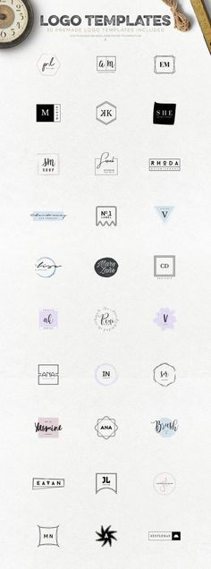 Logo Creation Kit Vol.6 by Zeppelin Graphics on @creativemarket