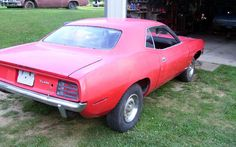 440/4-Speed/TrackPak: 1970 Plymouth 'Cuda - http://barnfinds.com/track-pak-1970-plymouth-cuda/