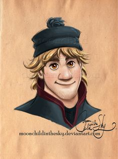 Kristoff Portrait by MoonchildinTheSky on deviantART | Disney's Frozen | Walt Disney Animation Studios