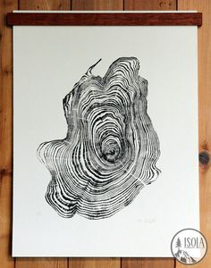 16 Tree Stumps That Will Inspire Your DIY Awakening And in addition to the rest, get some stumps on Cedar Trees, Woodblock Print, Tree Art, Tree Stumps, Diy Art, Art Lessons, Cool Art, Art Projects, Art Drawings