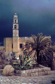 Old Jaffa Israel- St Peter's Church