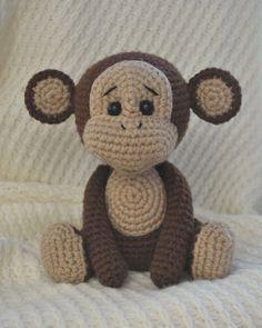 patrón de amigurumi mono travieso