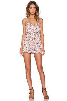 babf7e91d0a MINKPINK Pink Floral Playsuit in Multi Floral Playsuit