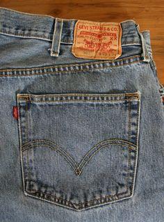 Vintage Men's Levi's 501 Button Fly Jeans