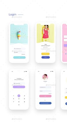 Do not miss the opportunity Minimal ui kit offers </strong> of the pric. Web Design, App Ui Design, Interface Web, Interface Design, Ui Kit, Minimalism Blog, Cute App, Android App Design, App Design Inspiration
