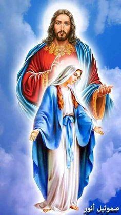 #jesus #mary #rosary #rosaryladder #sacredhearts #catholicsoldiers #art #legionofMary #legionofStMichael #madonnaandchild