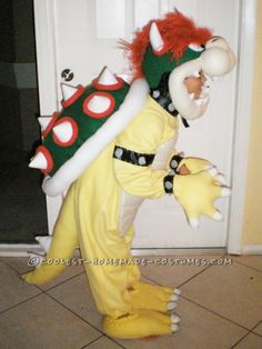 Best Bowser costume yet.  Good inspiration.