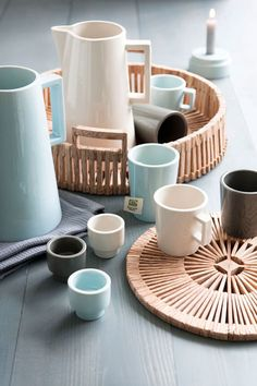 Fat crockery by Piet Hein Eek.