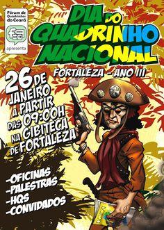 Confirmadíssimo(s) o(s) DIA(s) DO QUADRINHO NACIONAL no Ceará!