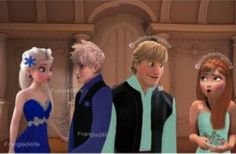 Image discovered by Micaela Elsa Soto. Find images and videos about jelsa and kristanna on We Heart It - the app to get lost in what you love. Frozen Anna And Kristoff, Frozen And Tangled, Disney Frozen, Disney Movie Characters, Disney Crossovers, Jelsa, Merida And Hiccup, Rapunzel And Eugene, Jack Frost And Elsa