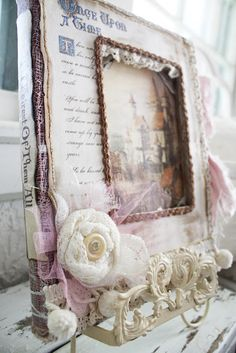 Once Upon A Time ~ Altered book