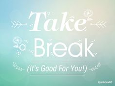 Have a break through - Free desktop wallpaper download | via @ParkviewHealth