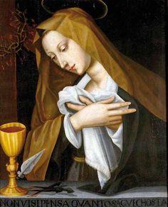 Suor Plautilla Nelli TOSD (1524–1588) - Pained Madonna