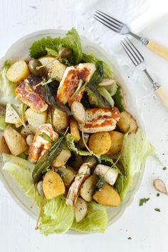 Salvia-perunasalaatti