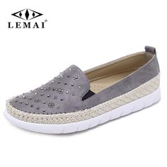 343e03121c0a69 LEMAI Fisherman Shoes Women Flats Casual Round Toe Spring Lazy Loafers  Bling Women Single Sneakers Summer