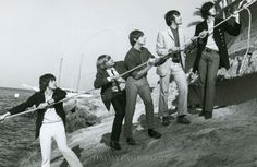 The Yardbirds August 23, 1966  Catalina Island, Avalon, California ... Jimmy Page, top right