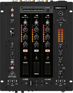 """Premium 3-Channel DJ Mixer with infinium """"Contact-Free"""" VCA Crossfader, Beat-Syncable FX and USB Audio Interface"""