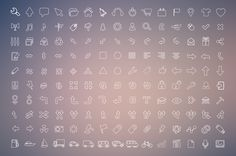 270 Outline Icons by asifaleem on Creative Market