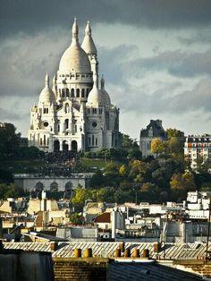 Basilica del Sacro Cuore, Parigi, Francia