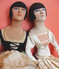 art deco boudoir dolls - Google Search