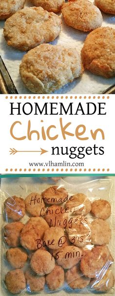 Homemade Chicken Nuggets Your Kids Will Love