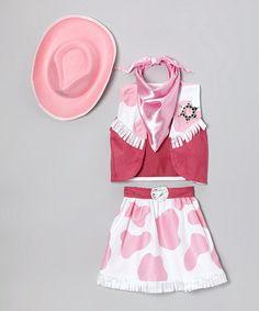 Cowgirl Role Play Dress-Up Set #zulily #zulilyfinds