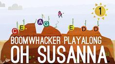 Oh Susanna - Boomwhackers 1 - YouTube