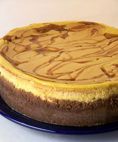 Swirled Caramel and Pumpkin Cheesecake Supreme by Back to the Cutting Board, via Flickr